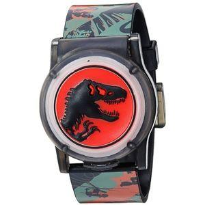 🆕️ Boys Jurassic Quartz Watch with Silicone Strap